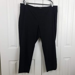 Dalia Ponte Stretch Pants in Black
